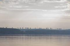 Het panorama van Donau Stock Afbeeldingen