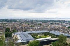 Het Panorama van Edinburgh Stock Afbeelding