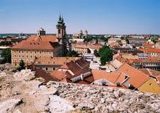 Het panorama van Eger Royalty-vrije Stock Afbeeldingen