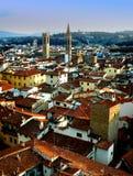 Het panorama van Firence Stock Afbeeldingen