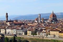 Het Panorama van Florence Stock Afbeelding