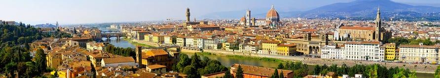 Het panorama van Florence royalty-vrije stock afbeelding