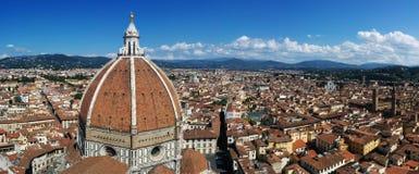 Het panorama van Florence Stock Foto's