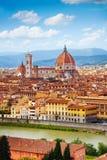 Het panorama van Florence, Italië royalty-vrije stock foto's