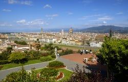 Het Panorama van Florenze royalty-vrije stock foto