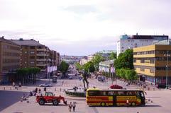 Het panorama van Gothenburg in daglicht Stock Foto