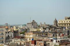 Het panorama van Havana Stock Foto
