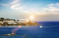 Het panorama van heilige Thomas Island royalty-vrije stock afbeeldingen