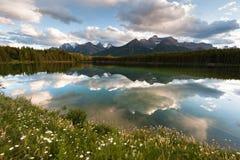 Het panorama van Herbert Lake Royalty-vrije Stock Afbeeldingen