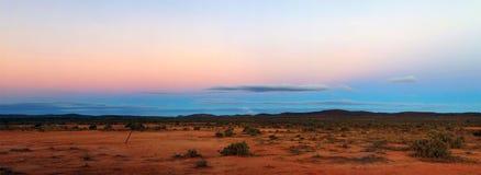 Het Panorama van het binnenland Stock Fotografie