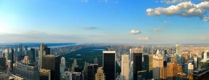 Het Panorama van het Central Park royalty-vrije stock afbeeldingen
