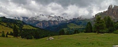 Het panorama van het dolomiet Royalty-vrije Stock Afbeelding