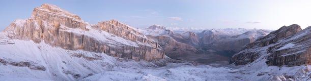 Het panorama van het dolomiet Royalty-vrije Stock Foto's