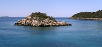 Het panorama van het eiland Stock Foto's