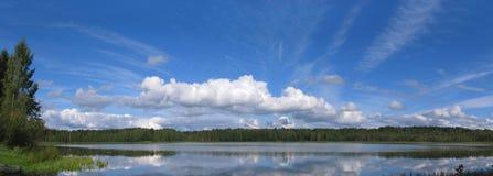 Het Panorama van het meer Royalty-vrije Stock Afbeelding