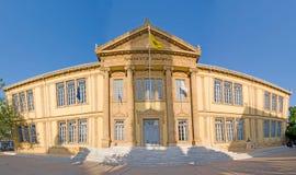 Het panorama van het Phaneromenigymnasium, oud Nicosia, Cyprus Royalty-vrije Stock Foto's