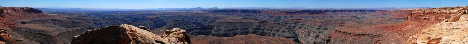 Het panorama van het Punt van Muley Stock Afbeeldingen