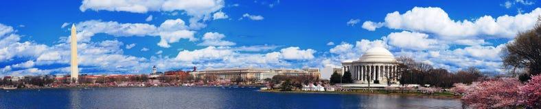 Het panorama van het Washington DC Stock Foto