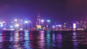 Het panorama van Hongkong