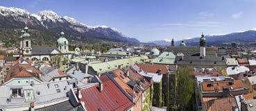 Het Panorama van Innsbruck Royalty-vrije Stock Foto