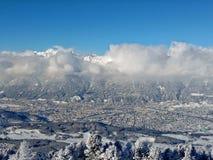 Het panorama van Innsbruck Royalty-vrije Stock Afbeeldingen