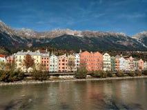 Het panorama van Innsbruck Stock Afbeelding