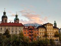 Het panorama van Innsbruck Stock Afbeeldingen