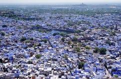 Het panorama van Jodhpur Stock Foto