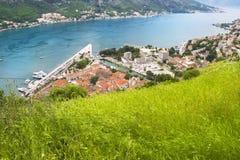 Het panorama van Kotorska van Boka Royalty-vrije Stock Fotografie