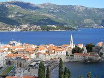 Het panorama van Kroatië stock fotografie