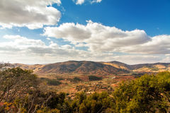 Het panorama van landschapsmadagascar royalty-vrije stock afbeelding