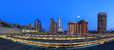 Het panorama van Leeds stock afbeeldingen