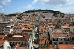 Het panorama van Lissabon Stock Afbeelding