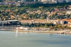 Het panorama van Lissabon Royalty-vrije Stock Foto's