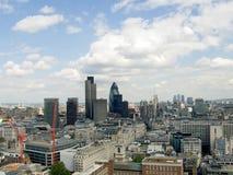 Het panorama van Londen stock fotografie