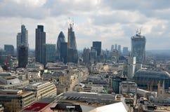 Het panorama van Londen Stock Foto