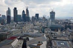 Het panorama van Londen Stock Foto's