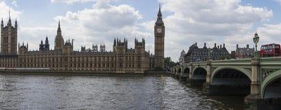 Het Panorama van Londen Royalty-vrije Stock Fotografie