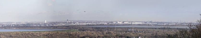 Het Panorama van Londen Royalty-vrije Stock Afbeelding