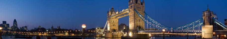 Het Panorama van Londen van Cantral Royalty-vrije Stock Foto's
