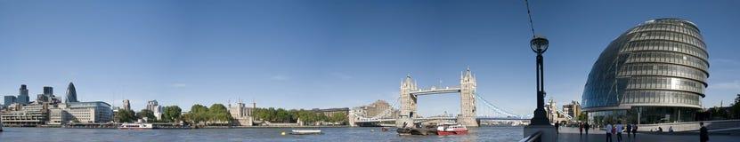 Het panorama van Londen van Cantral Stock Foto's
