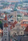 Het panorama van München Royalty-vrije Stock Afbeeldingen