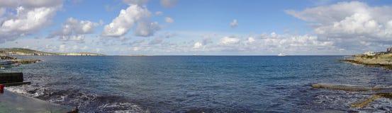 Het panorama van Malteese Stock Afbeelding