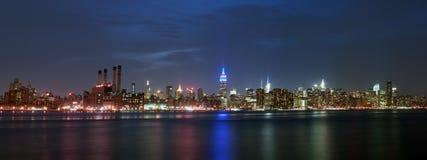 Het panorama van Manhattan Stock Fotografie
