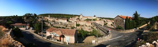 Het panorama van Minerve Stock Foto's