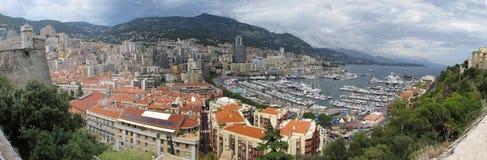 Het panorama van Monaco Royalty-vrije Stock Afbeelding