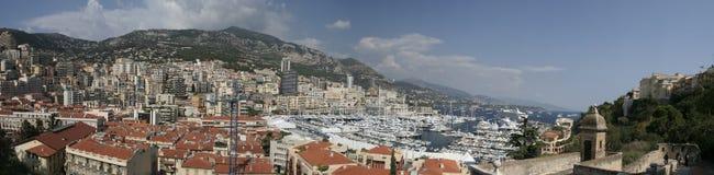 Het Panorama van Monte Carlo royalty-vrije stock foto's