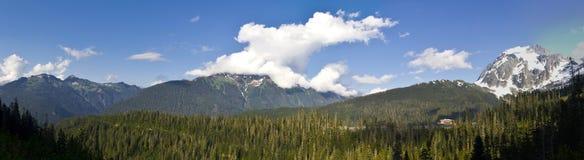 Het Panorama van MT Baker Royalty-vrije Stock Afbeeldingen