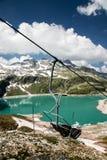Het panorama van Oostenrijk Kaprun Stock Fotografie