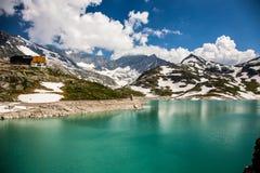 Het panorama van Oostenrijk Kaprun Stock Foto's